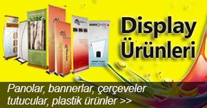 Yelken Reklam Display Ürünleri